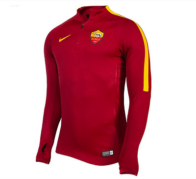 New AS Roma Nike Spring Drill Top Jacket
