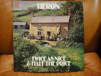 HERON - TWICE AS NICE AND HALF THE PRICE - 1st PRESS - UK - 2LP - COMPLETE