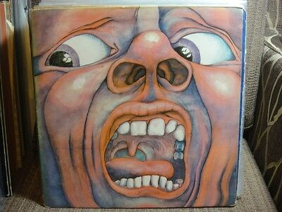 KING CRIMSON - IN THE COURT OF THE CRIMSON KING - 1st press - A2 B2