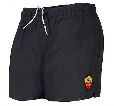 New AS Roma Black Swim Shorts