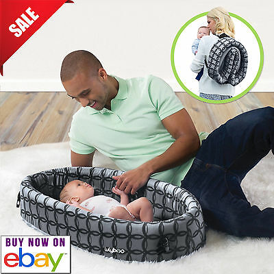 LulyBoo Classic Travel Infant Bed Foldable Cozy Baby Bassinet Easy Soft Newborn