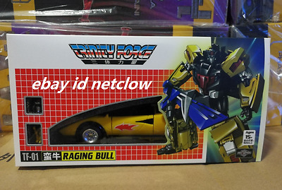 Transformers TFC toy TF-01 Raging Bull Road Caesar Laster in Stock