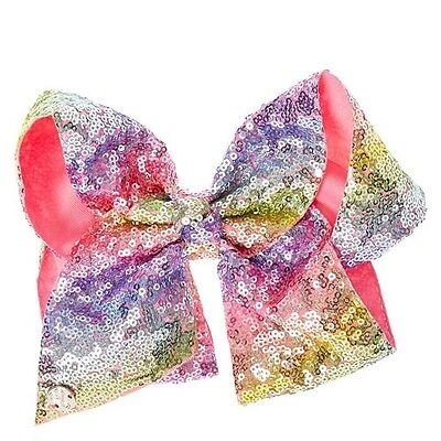 Jojo Siwa Birthday Collection Large Sequin Hair Bow New Out