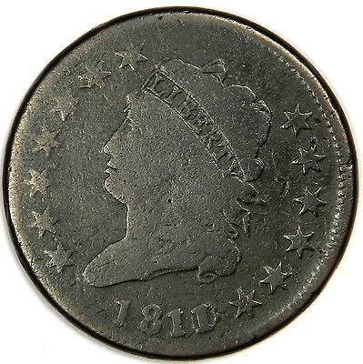 1811/0 Classic Head Large Cent - Problem Free Vg - Original And Priced Right!