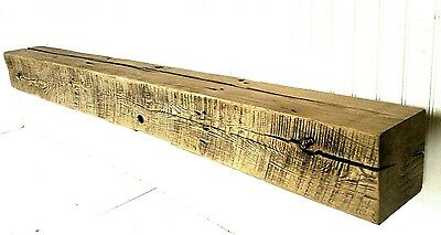 8x8 Made To Order Barn Beam Floating Mantel W/Hardware