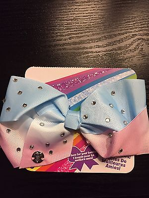 Jojo Siwa Small Ombre Blue And Pink Bestie Bow