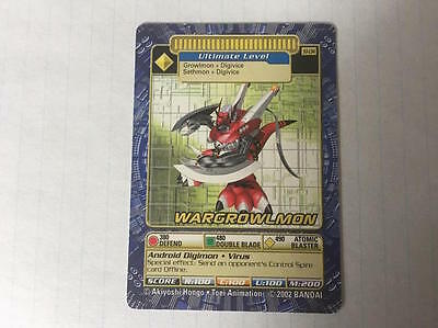 Digimon - Wargrowlmon (ST-134) - NM