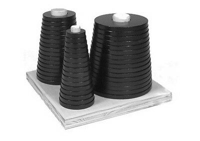 Anti-Backlash Ring Set For Boring Out Lathe Chuck Soft Jaws BIG STACK