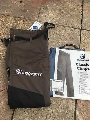 Husqvarna  Classic Chaps (chainsaw Trousers)Type A (Class 1) - One Size.