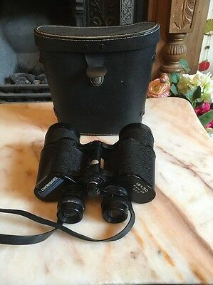 Vintage Commodore Binoculars 16 x 50 with Case