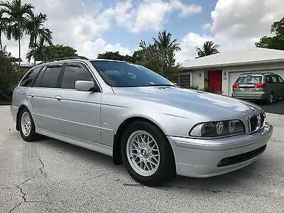 2002 BMW 5-Series Sport Touring 2002 BMW 525iT Sport Touring!! Automatic, Silver Metallic, CLEAN LOW MILES Wagon