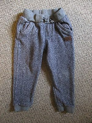 Boys age 3-4 years blue/grey marl joggers from F&F