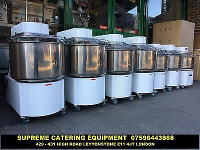Catering Commercial 20 Lt Spiral Dough Mixer Pizza Bakery Restaurant