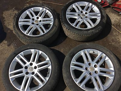 Vauxhall Vectra 5 Stud 17 Inch Alloy Wheels And Tyres