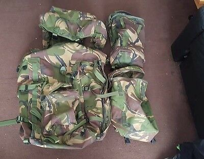 British army plce dpm burgen with 2 side pouches.