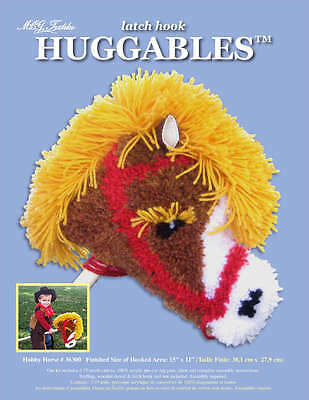 "Huggables Stuffed Toy Latch Hook Kit 15""X11"" Hobby Horse 36300"