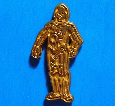 Star Wars - C3Po - Disney - Vintage Lucas Film Ltd Lapel Pin - Hat Pin - Pinback