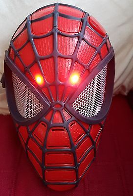 Spiderman Light Up Mask