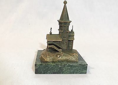 Russian Bronze Cathedral Paperweight