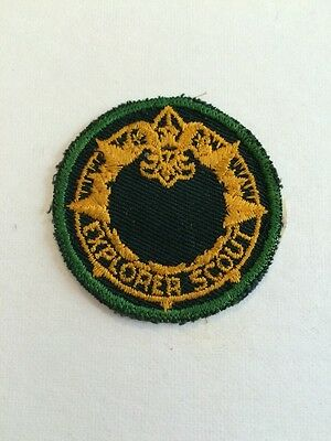 Boy Scout Explorer Patch Post 1 First In West Virginia