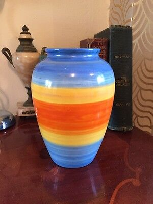 Stunning Art Deco Royal Cauldon/ Wardle Ceramic Bulbous Vase