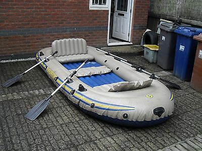 Intex Excursion 5 Inflatable boat.