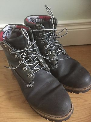 Timberland Blue Boots Mens Size 8.5 UK