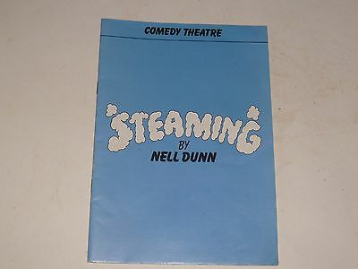 Comedy Theatre programme: STEAMING Nell Dunn