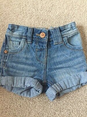 Age 6-9 Month Girls Next Denim Shorts