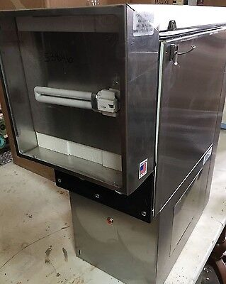 GW2 Commercial Refrigerated Dairy Cream Dispenser for 2 Flavors