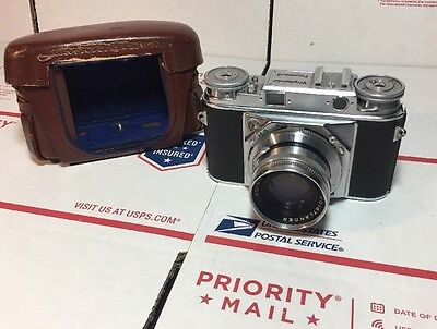 Voigtlander PROMINENT Camera w/ 50mm F2 Ultron Lens - UNTESTED / Looks NICE