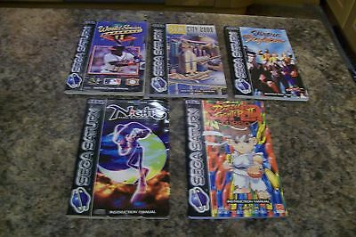 Job Lot Sega Saturn Instruction Manuals Only