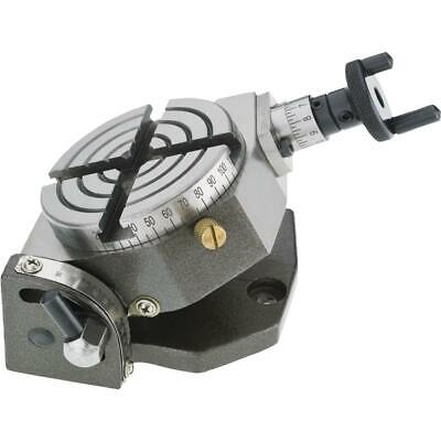 """T24511 Grizzly - 3"""" Rotary Table - Tilting"""