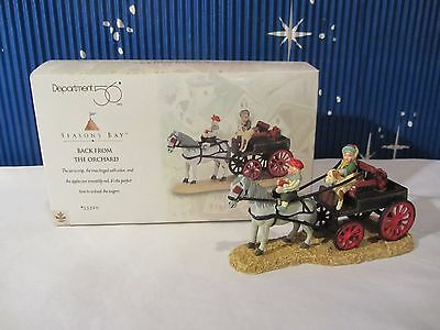 Dept 56 BACK FROM THE ORCHARD Seasons Bay Collection   #53320   (Q1016SH)