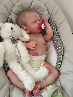 Beautiful Reborn baby Sailor Rose by Cassie Brace