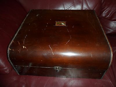 HMV 78rpm Electric Record Player/Gramophone 1930's? Untested