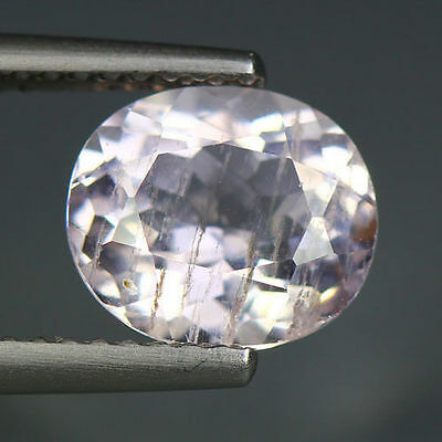 2.08 Cts_Simmering Ultra Nice Color Gemstone_100 % Natural Morganite_Brazil