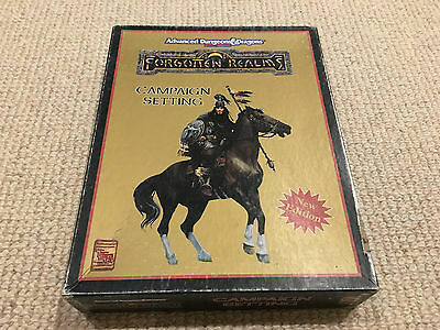 Forgotten Realms campaign setting boxed set 1993 version