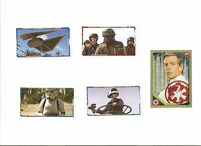 stickers rogue one topps
