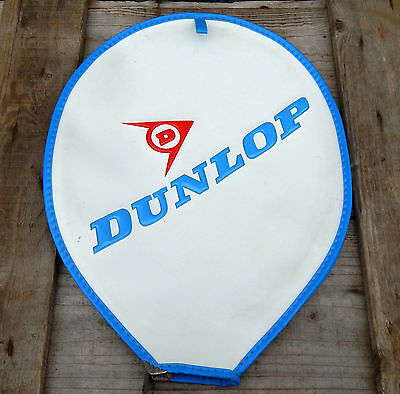 Vintage Retro Dunlop Tennis Racket Cover