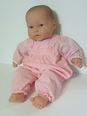 "Berenguer LOTS To CUDDLE  Open Mouth Teeth 20"" Vinyl/Cloth Baby Doll Play Reborn"