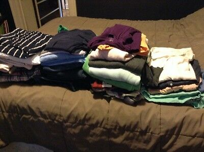 Womens clothes mixed huge lot size 12 14 Large shirts