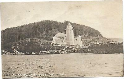 1796 Pc   St Anthony Lighthouse Falmouth Posted 1919