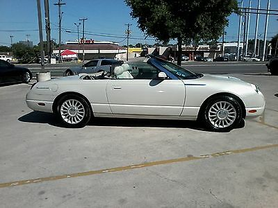 2005 Ford Thunderbird 50th Anniversary Ford 1 of only 1500 made in cashmere edition car comes w/ matching hard top
