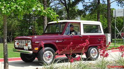 1969 Ford Bronco SUV 1969 Ford Bronco Restored Original 302 3-Speed Manual 4x4 Classic - VIDEO/ U-100