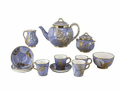 Royal Worcester Aesthetic Japonism Tea Set Designed by Christopher Dresser