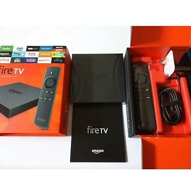 Amazon Fire TV with 4K Ultra HD. 2nd Generation. New With Alexa Remote!