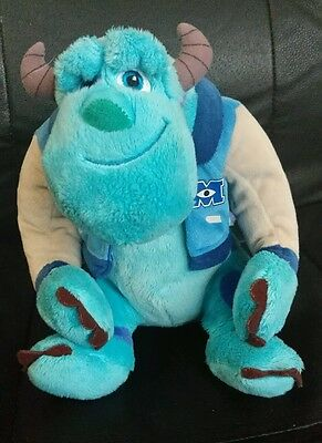 Monster Inc University Sully Soft Toy In Great Condition 10""