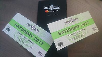 2x GOODWOOD FESTIVAL OF SPEED TICKETS 2017 - SATURDAY 1st JULY 2017. TWO TICKETS