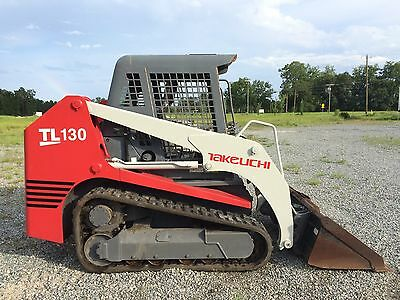 2006 Takeuchi TL130 Skid Steer Track Loader *NEW ENGINE* & New Tracks Warranty